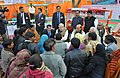 PM meets rickshaw pullers in Lucknow (24809915815).jpg