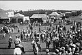 POLICE DISPERSING A WORKERS'S DEMONSTRATION IN KFAR SABA. פיזור הפגנת פועלים, במרכז המושבה כפר סבא..jpg