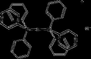 Bis(triphenylphosphine)iminium chloride - Image: PPN Cl