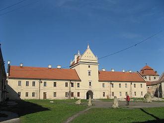 Zhovkva Castle - Zhovkva Castle, the Sobieski residence in Żółkiew (Zhovkva).