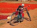 Pa-Oh boys sharing a bike (Myanmar 2013) (11773017514).jpg
