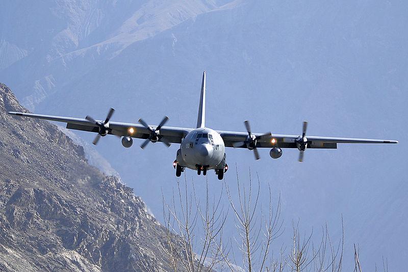 Pakistan Air Force Lockheed C-130E Hercules (L-382) Asuspine-2.jpg