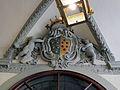 Palazzo di ubaldino peruzzi, fi, interno 15 stemma peruzzi medici.JPG