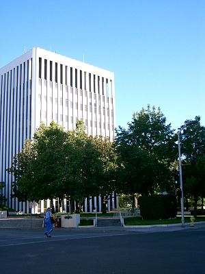 Photograph of Palo Alto City Hall.