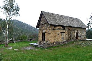 Troodos Mountains - Panagia Forviothissa in Asinou village