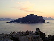 Panarea vista da Basiluzzo al tramonto