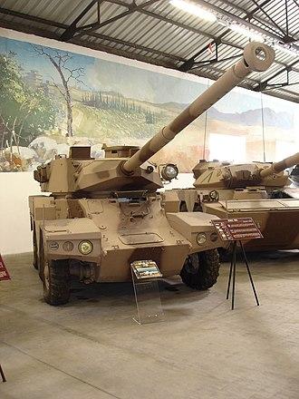 Musée des Blindés - Panhard ERC-90.