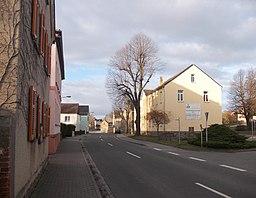 Hauptstraße in Borsdorf