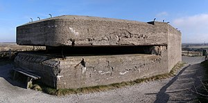 Bunker - A bunker on the island of Texel, in the Netherlands.