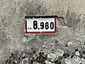 Panonceau PK 8,980 Route N79 Route Mâcon St Cyr Menthon 2.jpg
