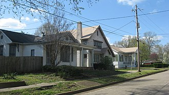 National Register of Historic Places listings in Fulton County, Kentucky - Image: Park Avenue in the Carr HD