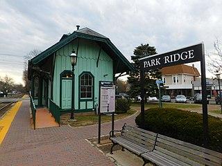 Park Ridge station (NJ Transit) United States historic place