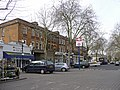 Parking area and shops, Kew Gardens Station - geograph.org.uk - 1170150.jpg