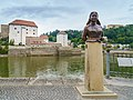 Passau Emerenz Meier Bueste.JPG