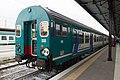 Passenger railcar at Verona Porta Nuova train station.jpg