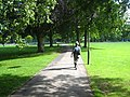 Path through Lammas Recreation Ground - geograph.org.uk - 2499874.jpg