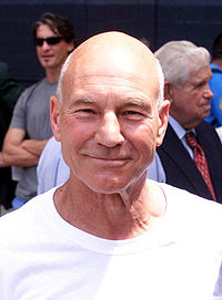 "Patrick Stewart guest starred in ""Homer the Great""."