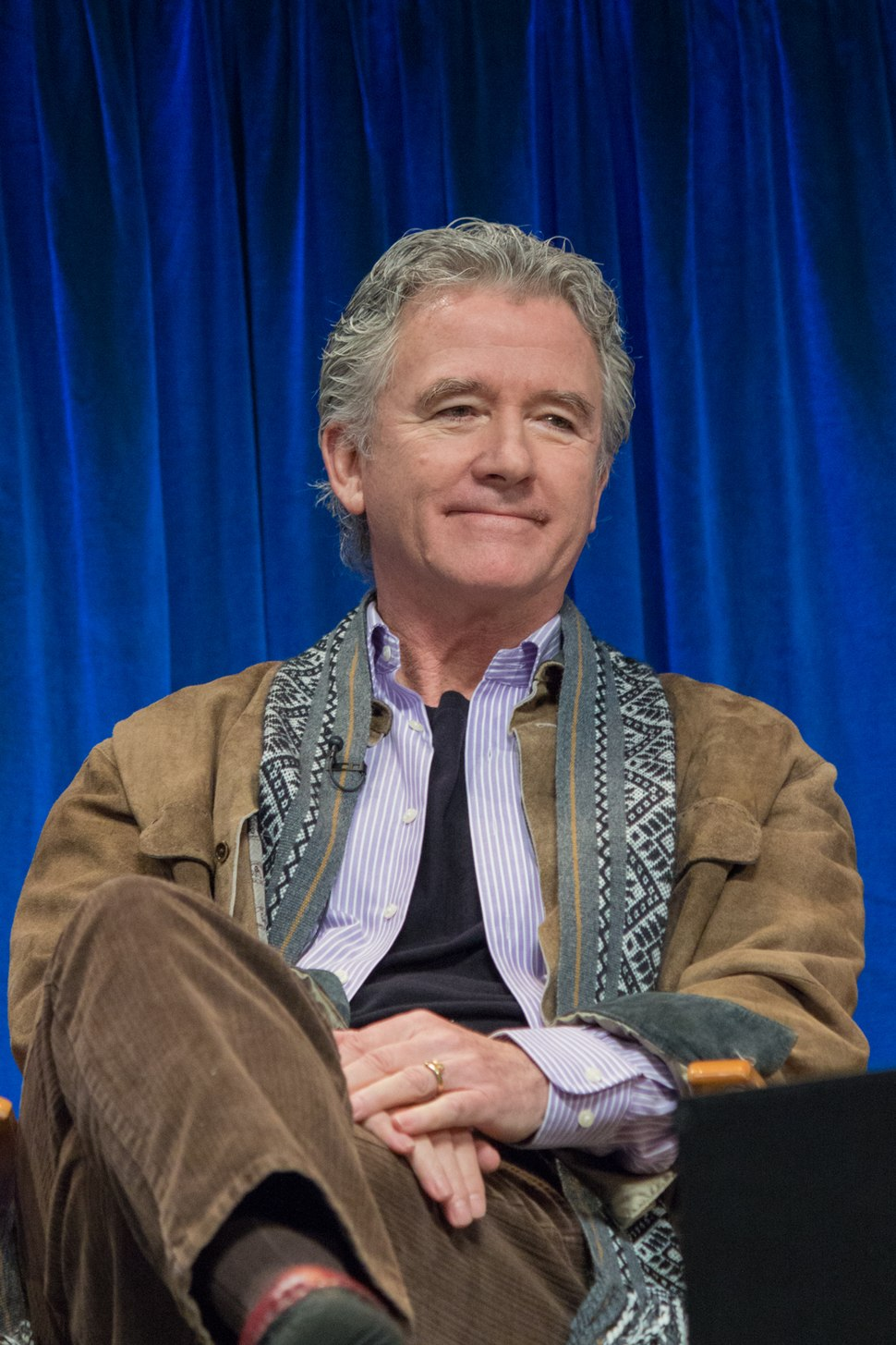 Patrick Duffy at PaleyFest 2013