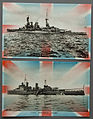 Patriotic WWII naval postcards - HMS Repulse & HMS Newcastle (3016495407).jpg