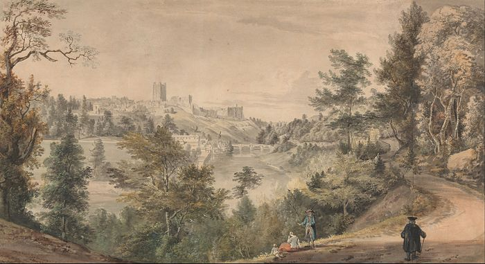Paul Sandby - View of Richmond Castle, Yorkshire - Google Art Project.jpg