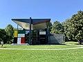Pavillon Le Corbusier art museum in Zurich-Seefeld at Zürichhorn (Ank Kumar) 05.jpg