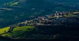 Beaujolais (province) - Beaujolais landscape