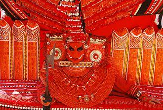 Theyyam -  Theyyam from Ashtamanchal Baghavathi Kshetram, Payyanur
