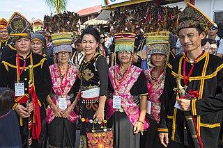 Kadazan-Dusun Ethnic-group from Sabah, Malaysia