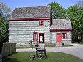 Pennsylvania Log Farmhouse, Ulster American Folkpark - geograph.org.uk - 1303921.jpg