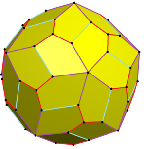 Pentagonal hexecontahedron - Image: Pentagonal hexecontahedron variation