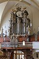 Penzing (Wien) - Kirche St. Jakob, Orgel.JPG