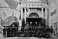 People at the entrance of Grand Exhibition of National Defense at Ueno Park 1934.jpg