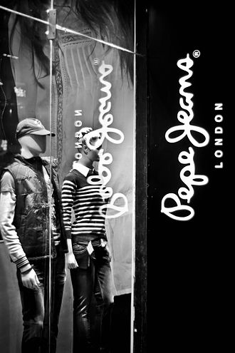 Pepe Jeans - The Pepe Jeans showroom at Brigade Road (Bangalore, India)