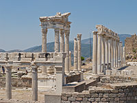 Temple of Trajan at Pergamon