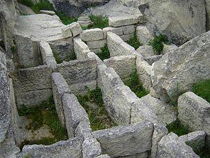 Perperikon - Image: Perperikon, grobnitsa na vladetelite
