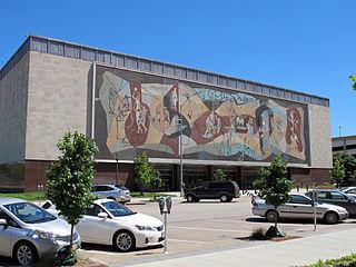 Pershing Center Arena in Lincoln, Nebraska USA