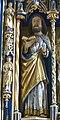 Pesenbach St.Leonhard - Hochaltar Schrein 3 Bartholomäus.jpg