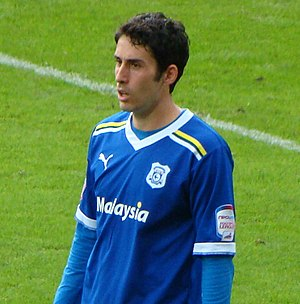 Peter Whittingham - Whittingham playing for Cardiff City in 2011