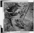 Petersburg, Virginia. Dead Confederate soldiers in trenches of Fort Mahone LOC cwpb.02552.tif