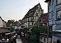 Petite Venise depuis le pont de la rue de Turenne (Colmar) (02).jpg