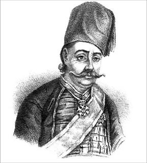 Petrobey Mavromichalis Greek notable of Mani, revolutionary army leader, and politician