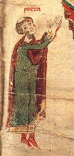 Petrus de Ebulo, self-portrayal in Liber ad honorem Augusti