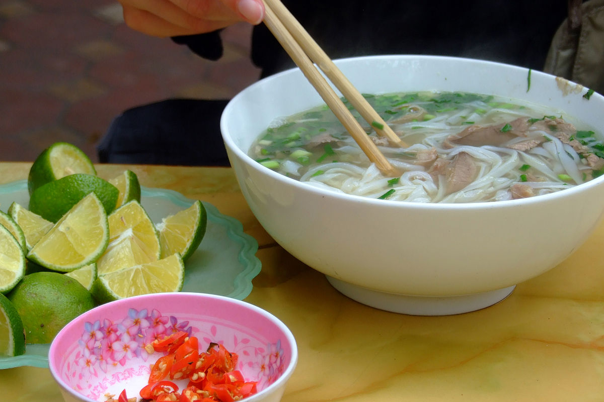 Pho wikipedia for Cuisine vietnamienne