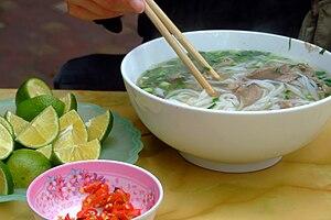 Pho - Image: Phở bò, Cầu Giấy, Hà Nội