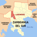 Ph locator zamboanga del sur lakewood.png