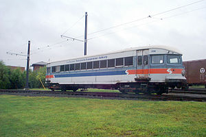 Bullet (interurban) - Image: Philadelphia & Western Railway 206