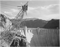 Photograph Looking Over the Top of the Boulder Dam, 1941 - NARA - 519843.tif