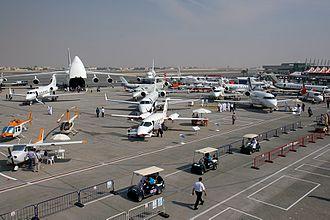 Dubai Airshow - 2007 static display