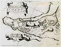 Pianta della Cittá e Fortezza di Coron - Coronelli Vincenzo Maria - 1708.jpg