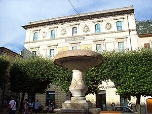 Antrodoco - Piazza del Popolo square